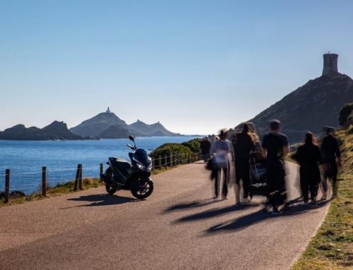 Balade en scooter sur l'archipel des Sanguinaires, à Ajaccio