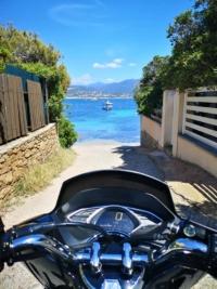 Porticcio, Agosta, Isolella... Location de scooter a Ajaccio