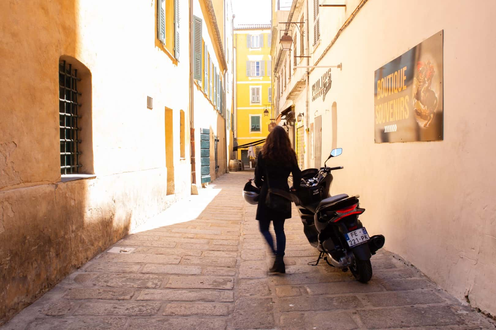 Location de scooter a Ajaccio
